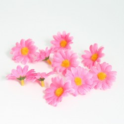 Artificial flower heads d-3cm 10pcs