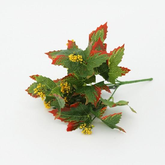 Artificial autumn leaves 30cm