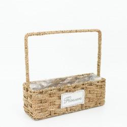 Basket FLOWERS 1pcs