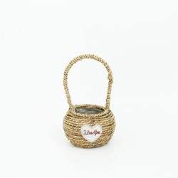 Basket I LOVE YOU 1pcs