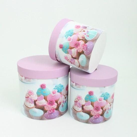 Flower box set 3pcs