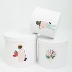 Flower boxes set 3pcs