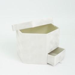 Velvet box 1pcs, grey