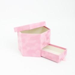 Velvet box 1pcs, pink