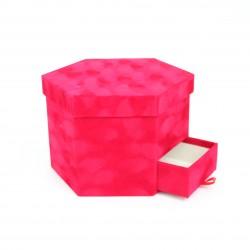 Velvet box 1pcs, red