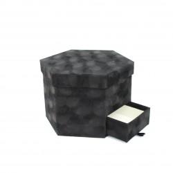 Velvet box 1pcs, black