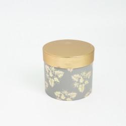 Flower box 1pcs, grey