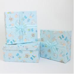 Gift boxes set BABY BOY 3pcs
