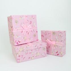 Gift boxes set BABY GIRL 3pcs