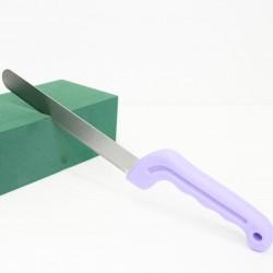 Floral knife for floral foam,  XL size, violet