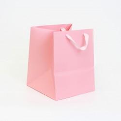 Paper gift bag 20*20*25cm 1pcs, pink