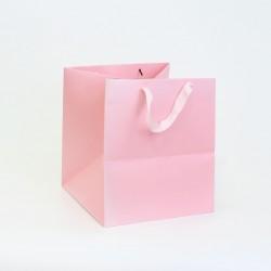 Paper gift bag 25*25*28cm 1pcs, pink