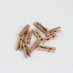 DIY wooden pins 3,5cm 10pcs