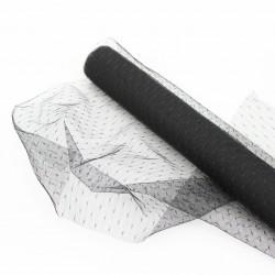 Tulle roll 50cm/4,5m, black