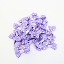 Fabric bows 2.5cm, 25pcs