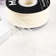 Lace ribbon 4cm/22m , beige