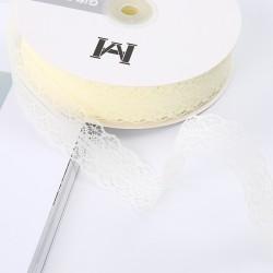Lace ribbon 3cm/45m , beige