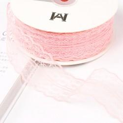 Lace ribbon 4,5cm/45m , peony