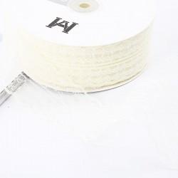 Lace ribbon 4,5cm/45m , beige