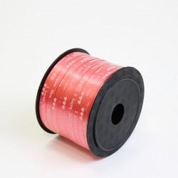 Polypropylene balloon curling ribbon I LOVE YOU 5mm/90m, red