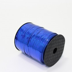 Polypropylene balloon curling ribbon SHINE 5mm/500m, blue