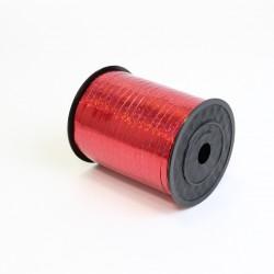 Polypropylene balloon curling ribbon SHINE 5mm/500m, red