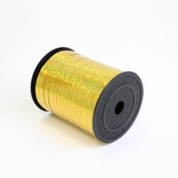 Polypropylene balloon curling ribbon SHINE 5mm/500m,  golden yellow