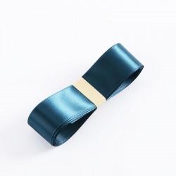 """Satin PREMIUM ribbon color """"emerald"""" 2.5cm/40m"""