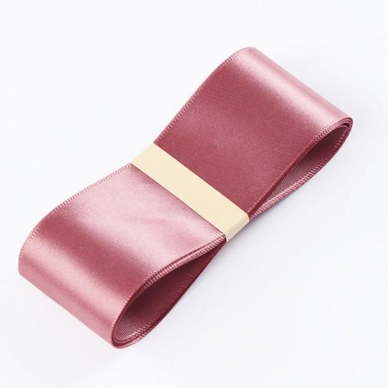 "Satin PREMIUM ribbon color ""cinnabar"" 3.8cm/45m"