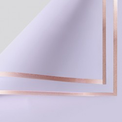 Waterproof flower film GOLDEN ROSE 20sheets , lilac