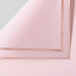 Waterproof flower film GOLDEN ROSE 20sheets , pink