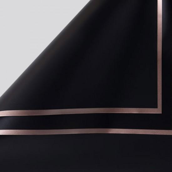 Waterproof flower film GOLDEN ROSE 20sheets, black