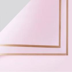 Waterproof flower film GOLDEN ROSE 20sheets , light pink