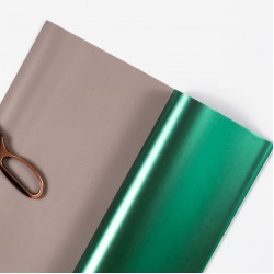 Waterproof flower and gift wrapping paper METALLIC 20sheets