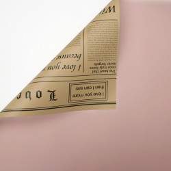 Waterproof flower and gift wrapping paper NEWSPAPER 20sheets